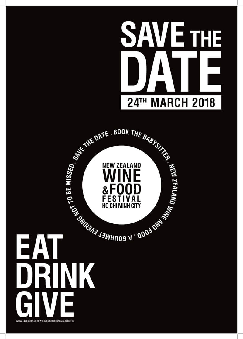 Caravelle Saigon Hotel: Save the Date – New Zealand Wine & Food Festival 2018