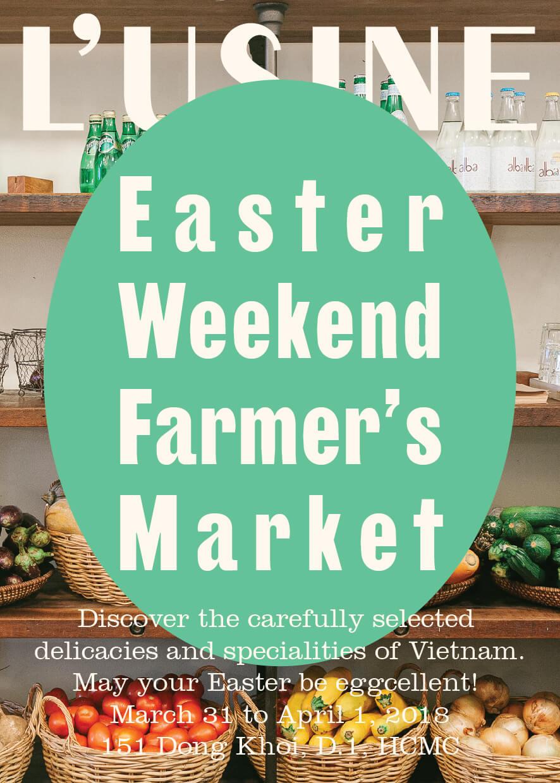 Easter at L'Usine Farmer's Market