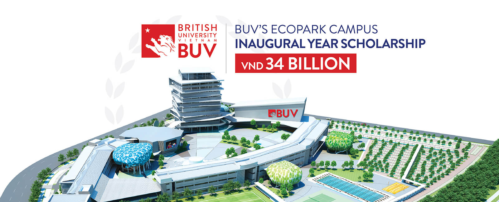 BUV HAS OFFICIALLY LAUNCHED THE 'BUV'S ECOPARK CAMPUS INAUGURAL YEAR SCHOLARSHIP FUND' WORTH 34 BILLION VND